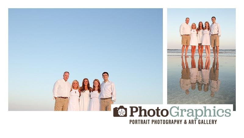 Kiawah Family Portraits of the Howard Family - PhotoGraphics