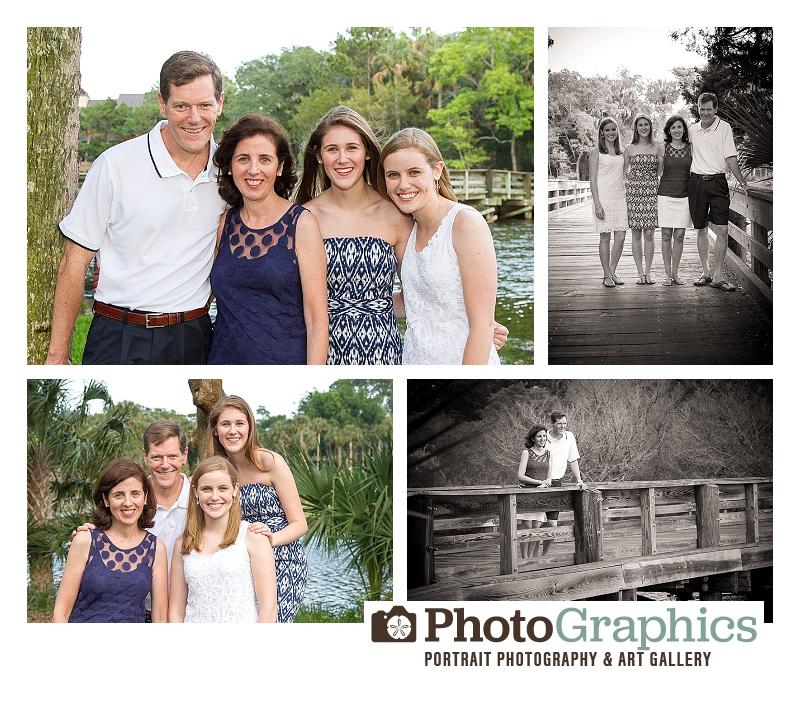 Kiawah Family Portraits Osprey Country Club