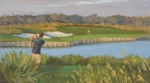 Cyra Paintings Ocean Course Kiawah