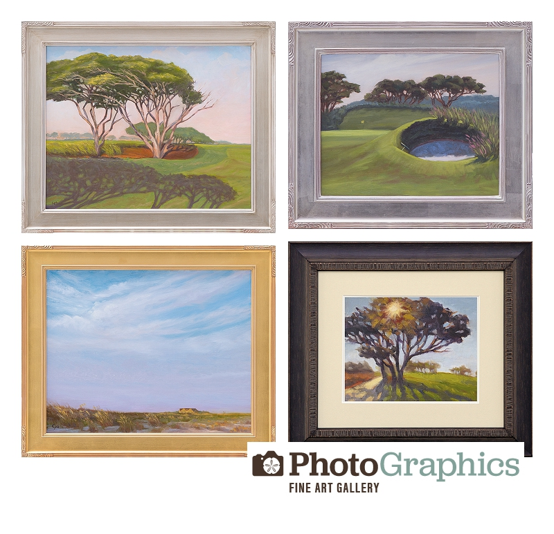 kiawah ocean course golf pga michael cyra paintings photography
