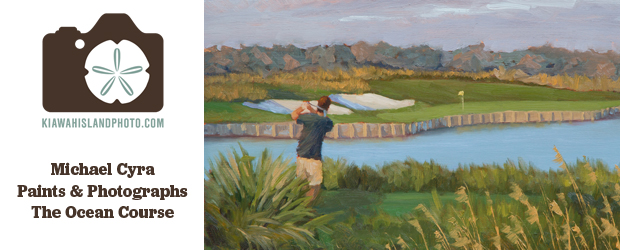 kiawah ocean course golf pga michael cyra paintings photography