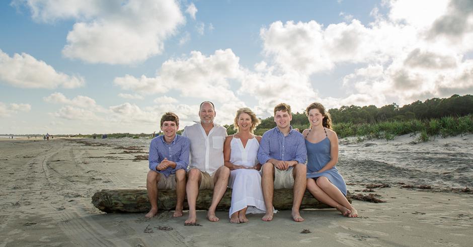 Family and Senior Portraits on Kiawah Island