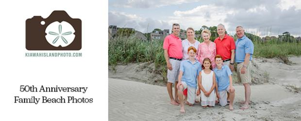 family photos kiawah island for grandparents 50th wedding anniversary