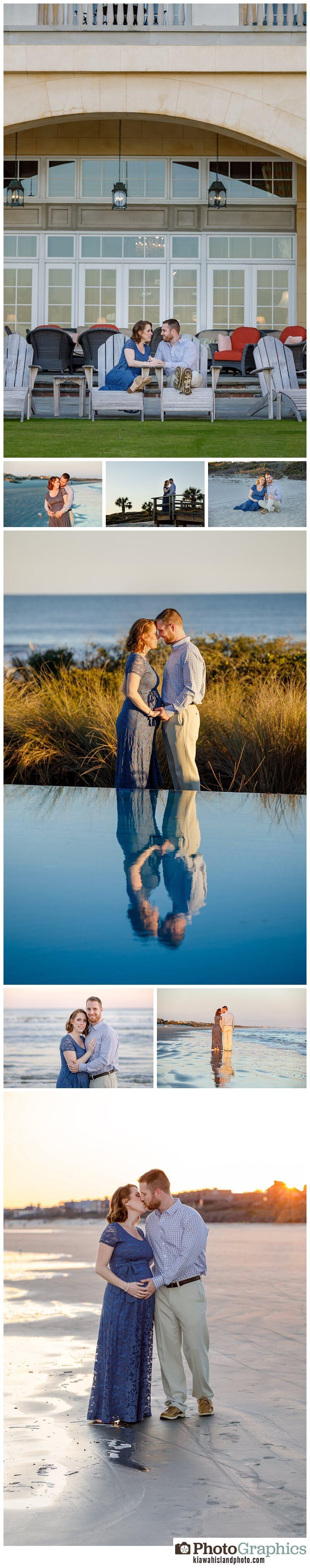 The sanctuary kiawah island baby bump photos husband and wife