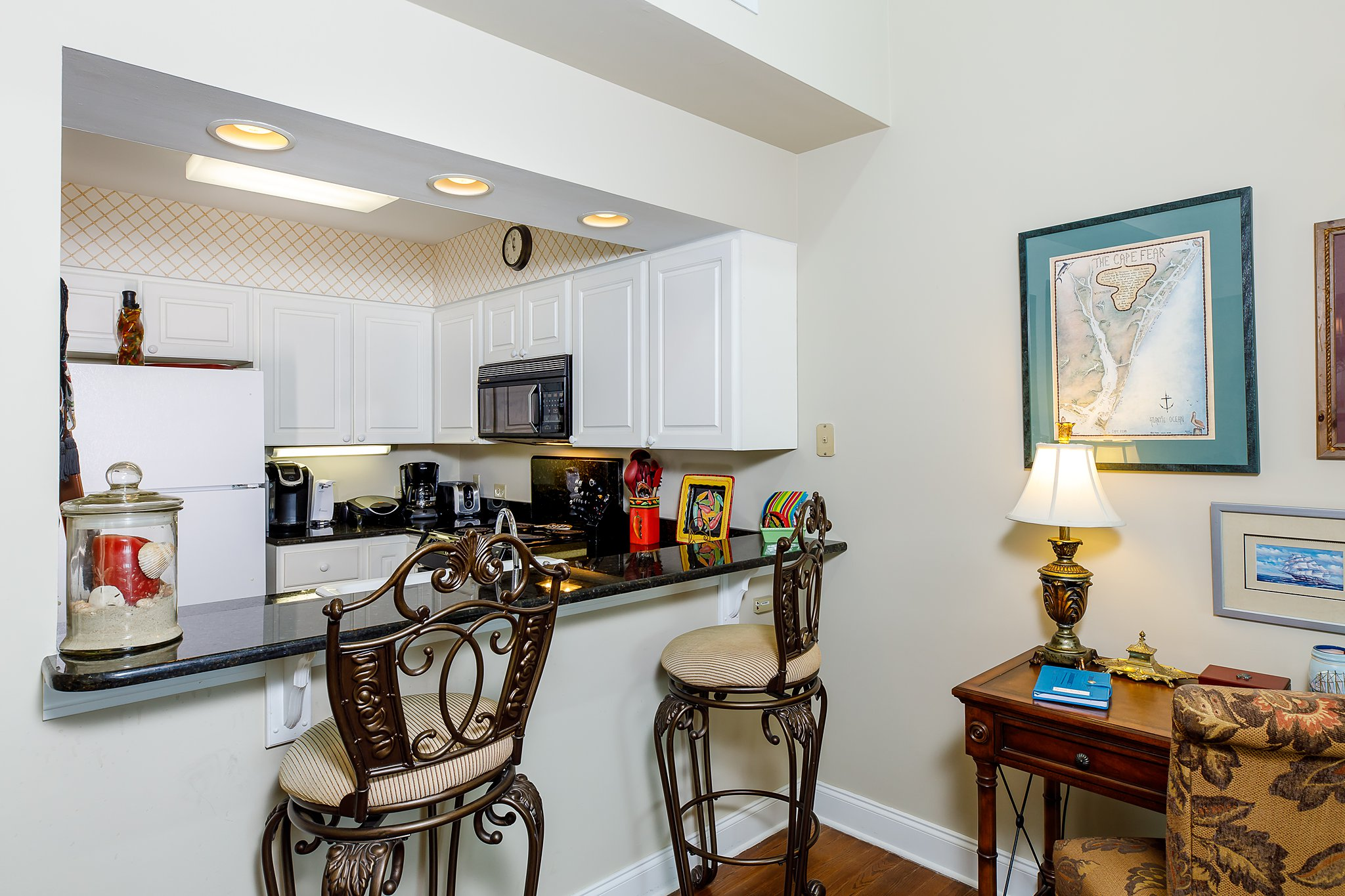 kitchen of home in seabrook island for real estate website