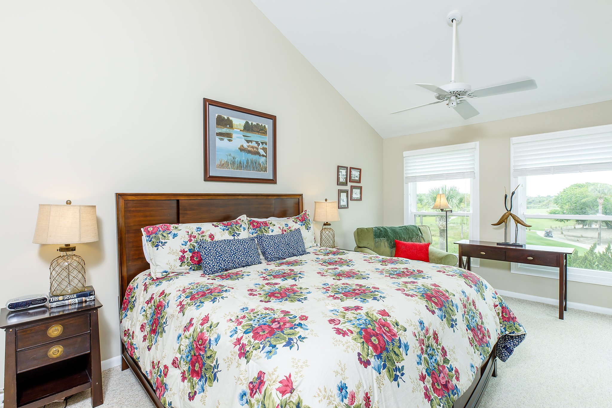 after photo of bedroom of home for real estate website