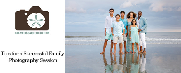 tips for a successful family photography session hero image kiawah island photo