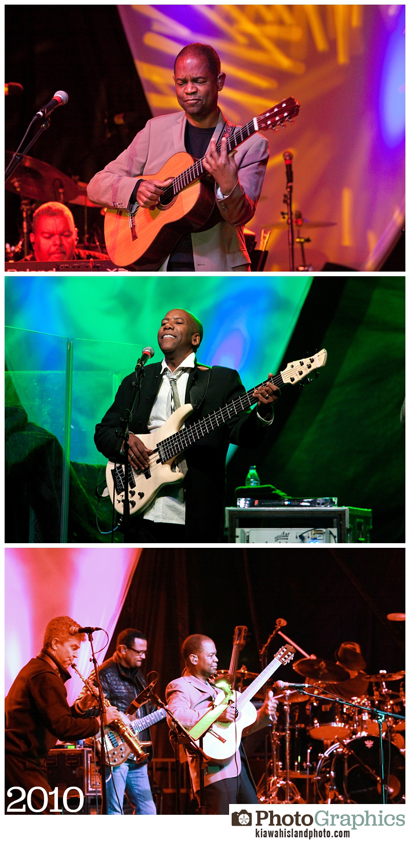 Performances from Weekend of Jazz on Kiawah Island, event photography