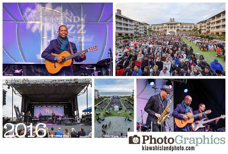 Performances outside of the Sanctuary Resort, Weekend of Jazz, Charleston SC. Event Photography Kiawah Island