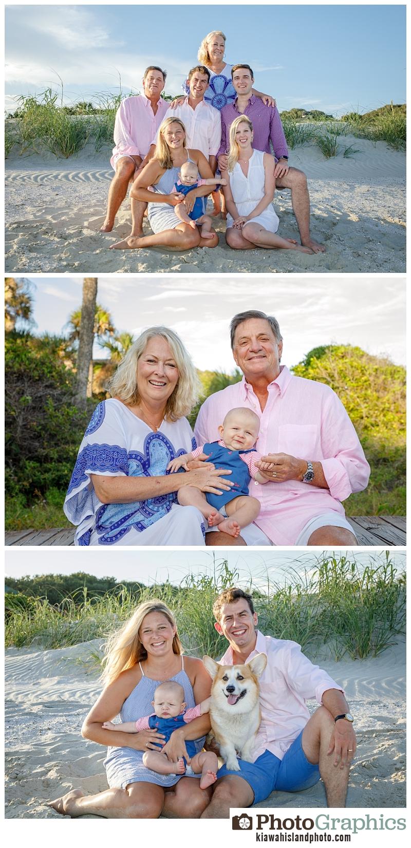 First grandbaby for family portraits on Kiawah Island, Kiawah Island family Photographer, Kiawah Island photographer