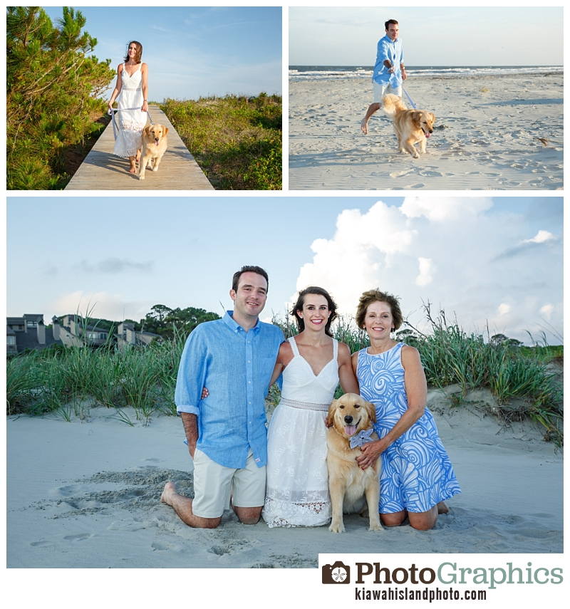 Family at the beach, Kiawah Island Photos