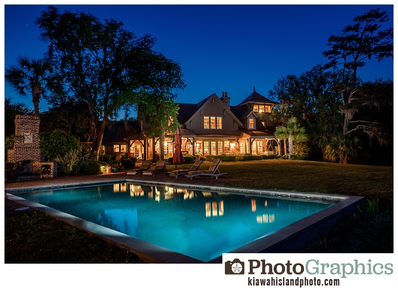 After photo at Twilight - Kiawah Island Photo, real estate photography