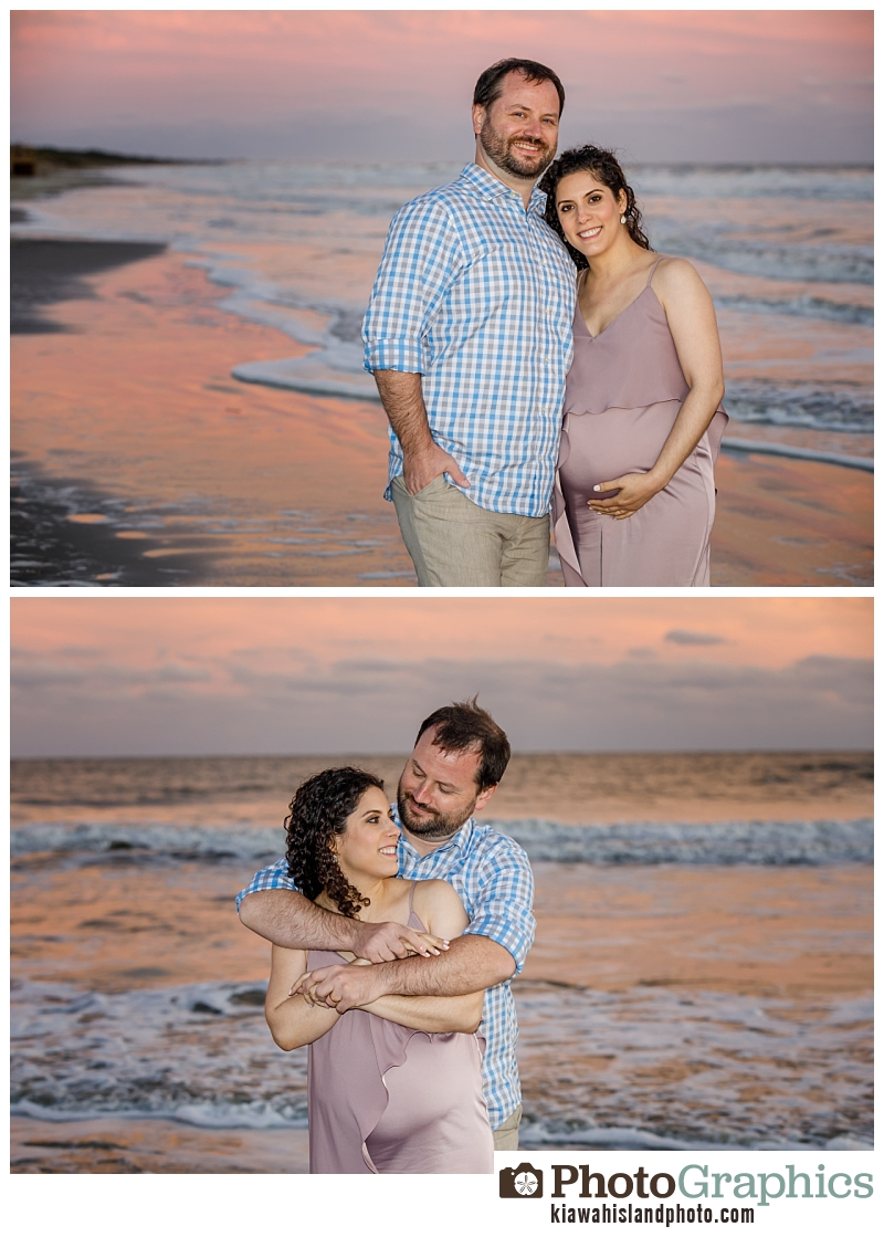 Couple photos at sunset Kiawah Island, Kiawah Photographer