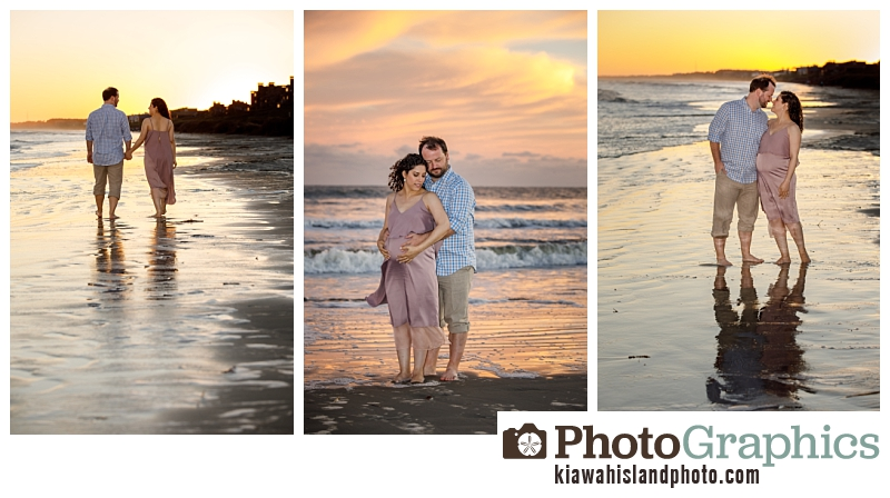 Sunset at the beach on Kiawah Island, Kiawah Island Family Photography