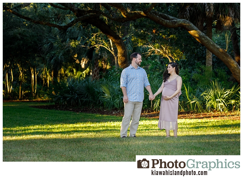 Couple holding hands in grass, Kiawah Island photographer