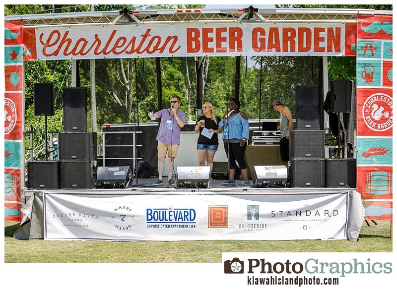 Charleston Beer Garden Event Photography - Speeches