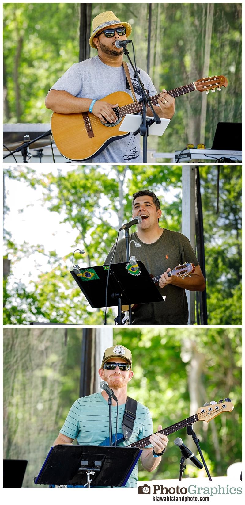 Kiawah Event Photographer - Charleston Beer Garden Event performances