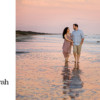 Couple photography at sunset at The Sanctuary Resort Kiawah Island