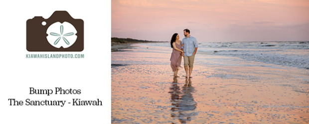 Couple photography at sunset at The Sanctuary Resort Kiawah Island