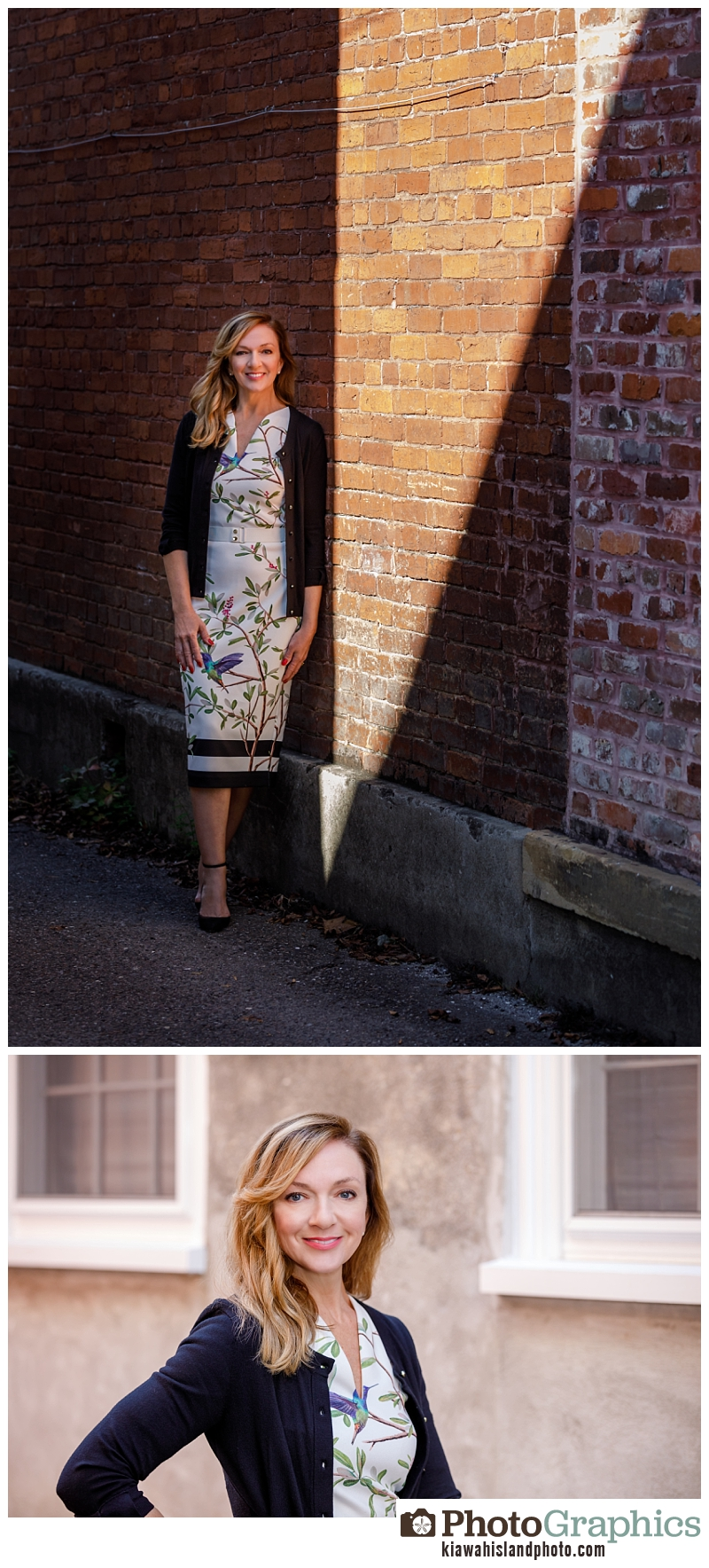 women downtown Charleston, South Carolina commercial photography Charleston