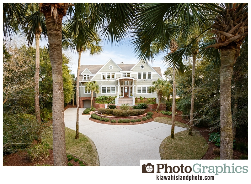 Kiawah Island homes - real estate photography, South Carolina