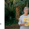 50 Anniversary sign for family photos - Kiawah Island family photos