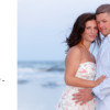 Couple photography on Kiawah Island, South Carolina for baby bump photos