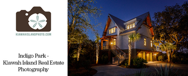 Indigo Park Twilight Photo - Kiawah Island Real Estate Photography