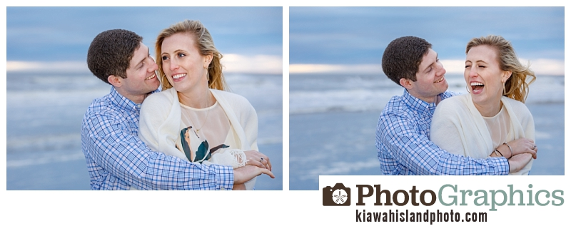 Happy couple just got engaged at The Sanctuary on Kiawah Island, South Carolina - couple photography